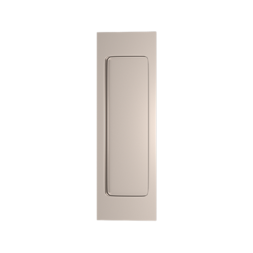 Turnstyle Designs S1955 Plain Rectangular Flush Pull