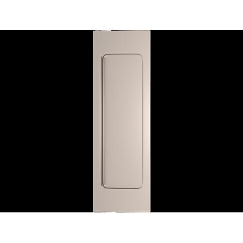 Turnstyle Designs S1955 Plain Rectangular Flush Pull