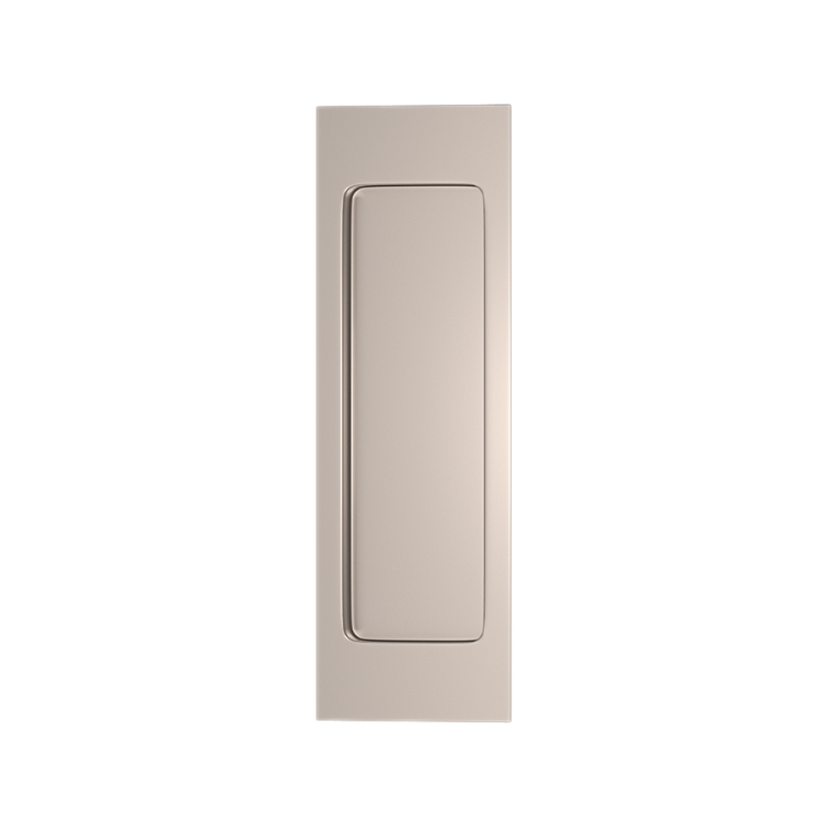 Turnstyle Designs S1955 Plain Rectangular Flush Pull  sc 1 st  Courtyard Architectural Hardware : turnstyle door - pezcame.com
